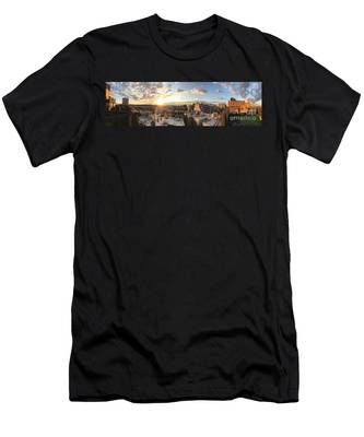 The Bronx Morning Men's T-Shirt (Athletic Fit)
