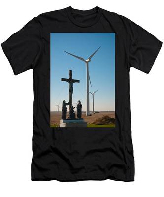 Men's T-Shirt (Athletic Fit) featuring the photograph The Wind by Carl Young