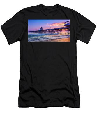 There Will Be Another One - San Clemente Pier Sunset Men's T-Shirt (Athletic Fit)