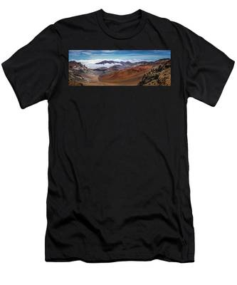 Top Of Haleakala Crater Men's T-Shirt (Athletic Fit)