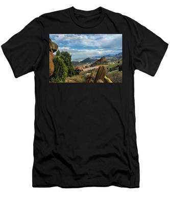 Trails At Red Rocks Men's T-Shirt (Athletic Fit)