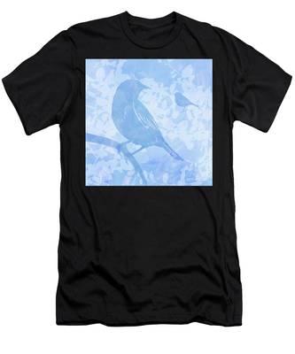 Tree Birds I Men's T-Shirt (Athletic Fit)