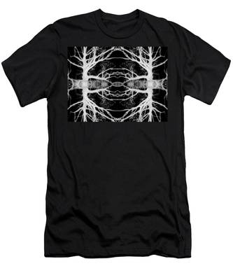 Tree Kaleidescope  Men's T-Shirt (Athletic Fit)