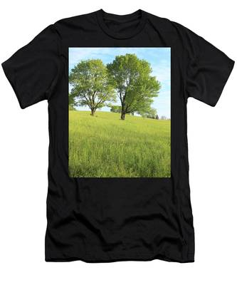 Summer Trees 2 Men's T-Shirt (Athletic Fit)