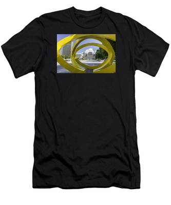 Men's T-Shirt (Athletic Fit) featuring the photograph Trio by Brad Wenskoski