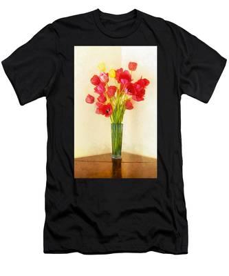 Tulip Bouquet Men's T-Shirt (Athletic Fit)