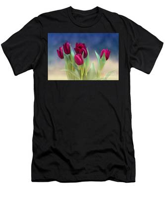 Tulips For Spring Men's T-Shirt (Athletic Fit)