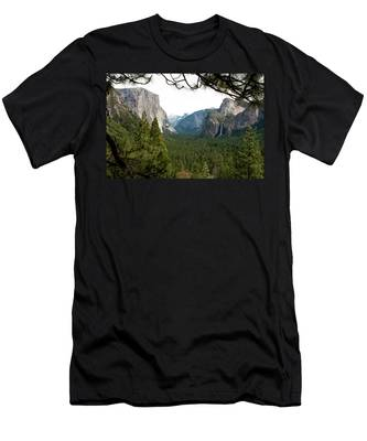 Tunnel View Framed Men's T-Shirt (Athletic Fit)