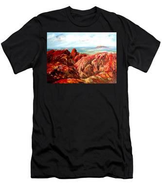 Uluru Viewed From Kata Tjuta Men's T-Shirt (Athletic Fit)