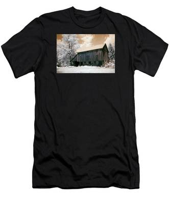 Underground Railroad Slave Hideout Men's T-Shirt (Athletic Fit)