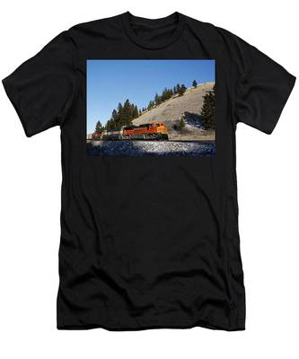 Up Hill And Into The Sun Men's T-Shirt (Athletic Fit)