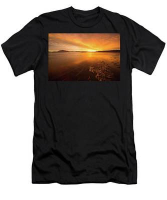 Utah Lake Sunset Men's T-Shirt (Athletic Fit)