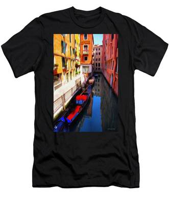 Venetian Canal Men's T-Shirt (Athletic Fit)