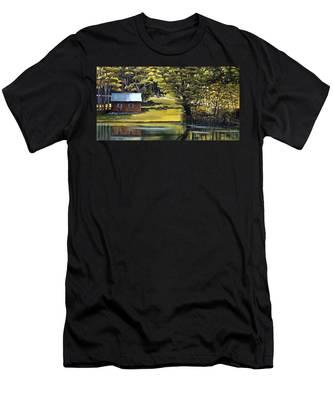 Vermont Greens Men's T-Shirt (Athletic Fit)
