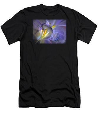 Vigor - Abstract Art Men's T-Shirt (Athletic Fit)