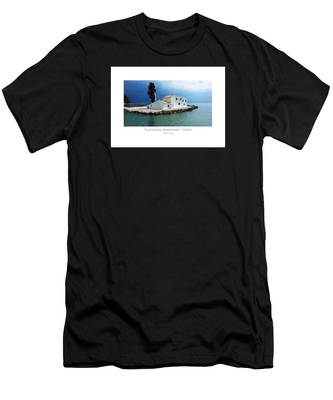 Vlachurna Monastary - Corfu Men's T-Shirt (Athletic Fit)