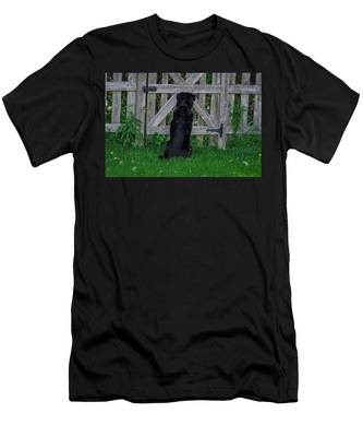 Waiting At The Gate Men's T-Shirt (Athletic Fit)