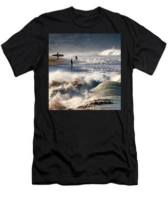Waiting By Mike-hope Men's T-Shirt (Athletic Fit)