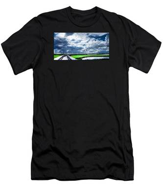 Walk With Me In The Sky Men's T-Shirt (Athletic Fit)