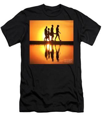Walking On Sunshine Men's T-Shirt (Athletic Fit)