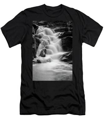 water stair in Ilsetal, Harz Men's T-Shirt (Athletic Fit)