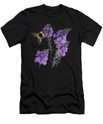 Watercolor Bumble Bee Men's T-Shirt (Athletic Fit)