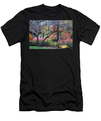 Watercolor Forest Men's T-Shirt (Athletic Fit)