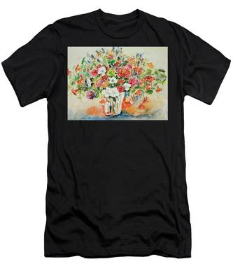 Watercolor Series 23 Men's T-Shirt (Athletic Fit)