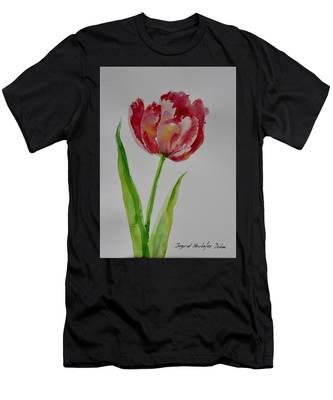 Watercolor Series No.  228 Men's T-Shirt (Athletic Fit)