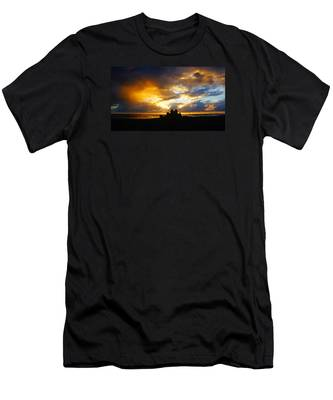 Waterfront Castle Of Your Own Men's T-Shirt (Athletic Fit)