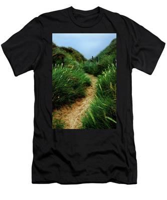 Way Through The Dunes Men's T-Shirt (Athletic Fit)