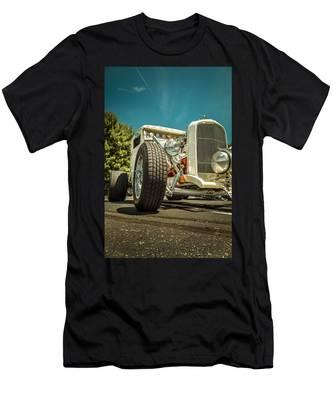 White Rod Men's T-Shirt (Athletic Fit)
