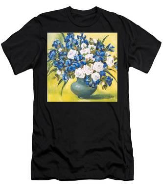 White Roses Men's T-Shirt (Athletic Fit)