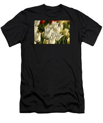Men's T-Shirt (Athletic Fit) featuring the photograph White Triumphator by Brad Wenskoski