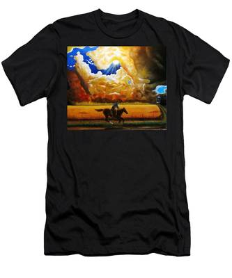Wild Fire  Men's T-Shirt (Athletic Fit)