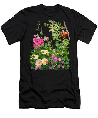 Wild Garden Men's T-Shirt (Athletic Fit)