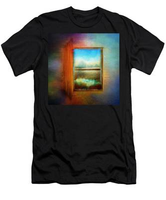 Window To Anywhere Men's T-Shirt (Athletic Fit)
