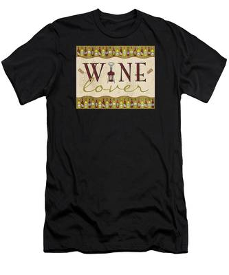 Wine Lover Men's T-Shirt (Athletic Fit)