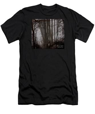 Winter Woods Men's T-Shirt (Athletic Fit)