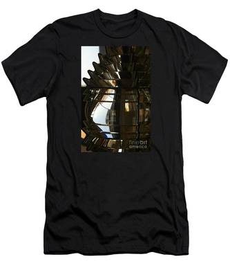 Within The Rings Of Lenses And Prisms Men's T-Shirt (Athletic Fit)