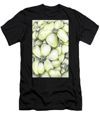 Yellow Flowers Pencil Men's T-Shirt (Athletic Fit)