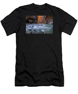 Zion Narrows Men's T-Shirt (Athletic Fit)