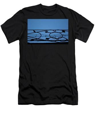 Barrier Men's T-Shirt (Athletic Fit)
