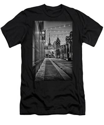 Bw City Lights Men's T-Shirt (Athletic Fit)