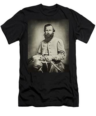 Confederate Jeb Stuart Men's T-Shirt (Athletic Fit)