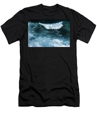 Men's T-Shirt (Athletic Fit) featuring the photograph Freedom Of The Ocean II by Anne Leven