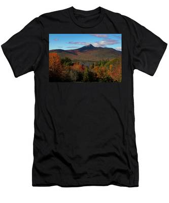 Men's T-Shirt (Athletic Fit) featuring the photograph Mount Chocorua New Hampshire by Jeff Folger