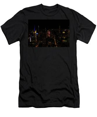 New York City Fifth Ave Men's T-Shirt (Athletic Fit)