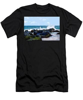 Ocean Meets The Coast Men's T-Shirt (Athletic Fit)