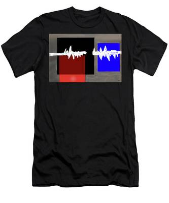 Men's T-Shirt (Athletic Fit) featuring the digital art Static by Teresa Epps